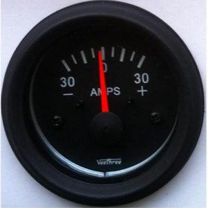 Ammeter 30Amp Veethree