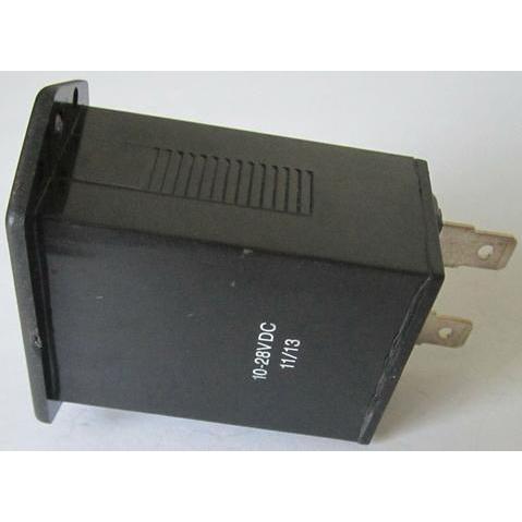 Hourmeter   rectangular  rear view 480x480