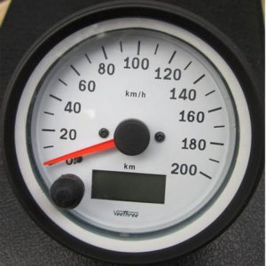 Speedometer BW Front Prgrammable 480x480
