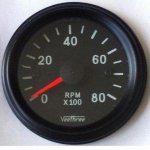 Tachometer 52pmm P 8000 480x480